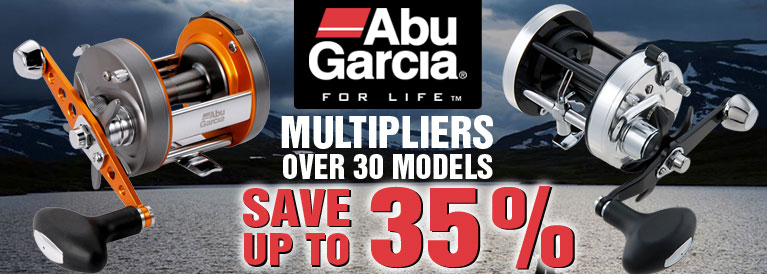 ABU Garcia Multiplier Reels Offer