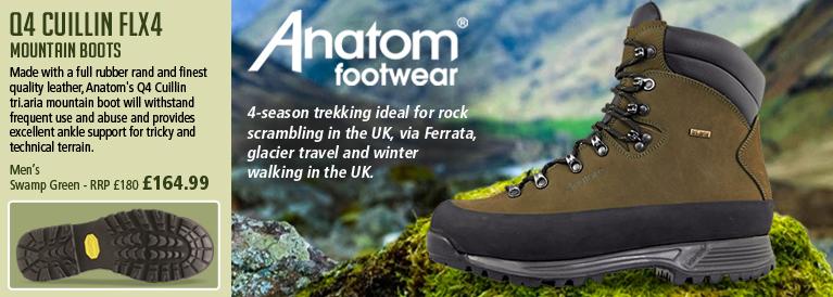 Anatom Q4 Cuillin FLX4 Mountain Boot (Unisex) - Swamp Green