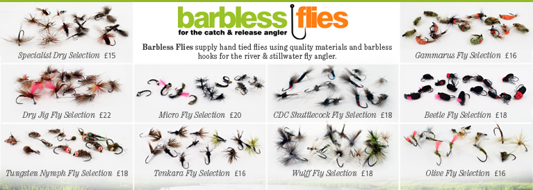 Barbless Flies Selection Boxes