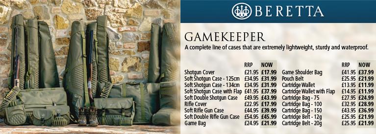 Beretta Gamekeeper Luggage Series