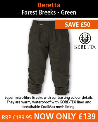 Beretta Forest Breeks - Green