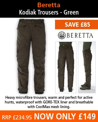 Beretta Kodiak Trousers - Green
