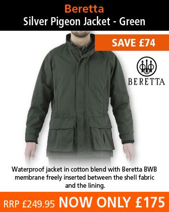 Beretta Silver Pigeon Jacket - Green