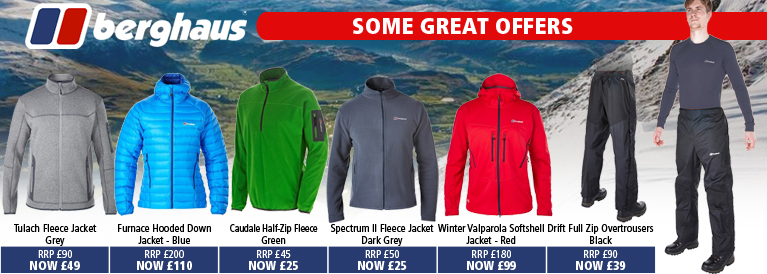 Berghaus New Clothing Offers