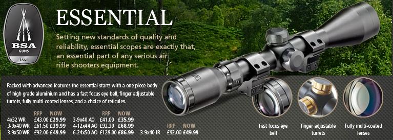 BSA Essential Riflescopes