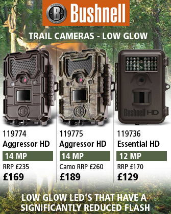 Bushnell Trail Cams - Low Glow