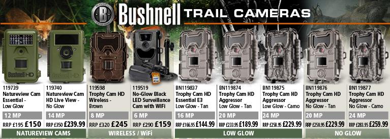Bushnell Trophy Cams Range