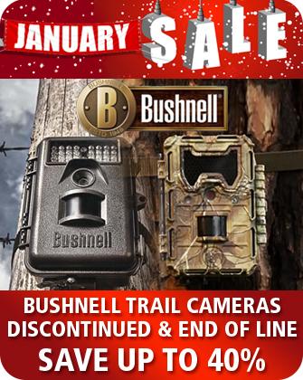 Bushnell Trail Cameras January Sale