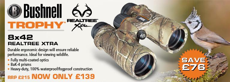Bushnell Trophy 8x42 Realtree Xtra Binoculars