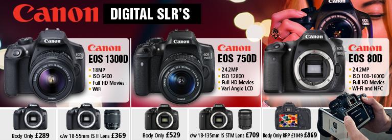 Canon Digital SLR's for Beginners