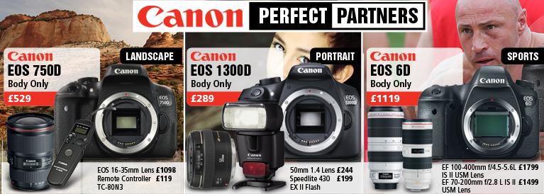 Canon Perfect Partners DSLR's