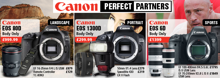 Canon Perfect Partners DSLR's