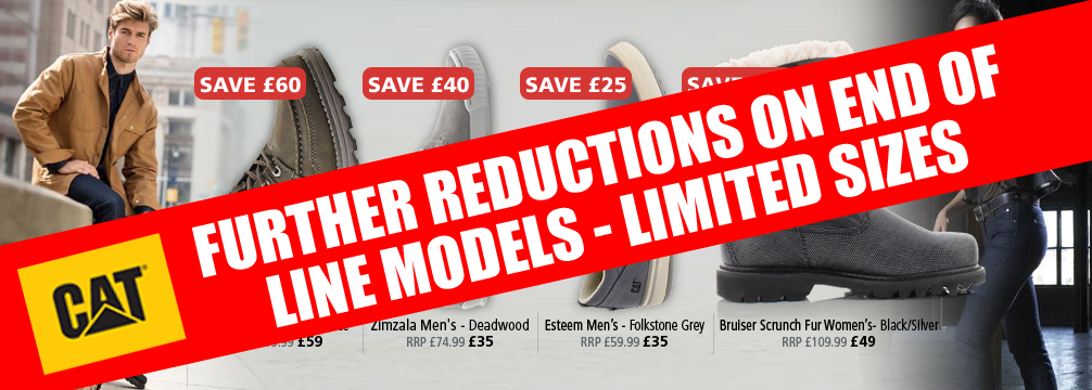 CAT FootwearFurther Reductions
