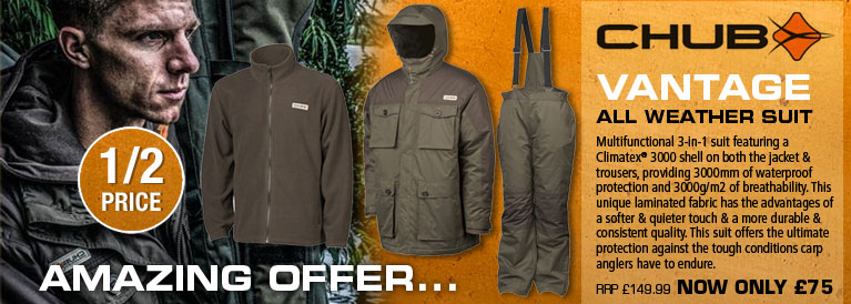 Chub Vantage All Weather Suit - Olive