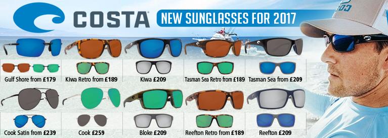 Costa Del Mar Sunglasses for 2017
