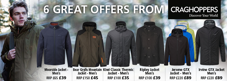 Craghoppers 6 Great Offers