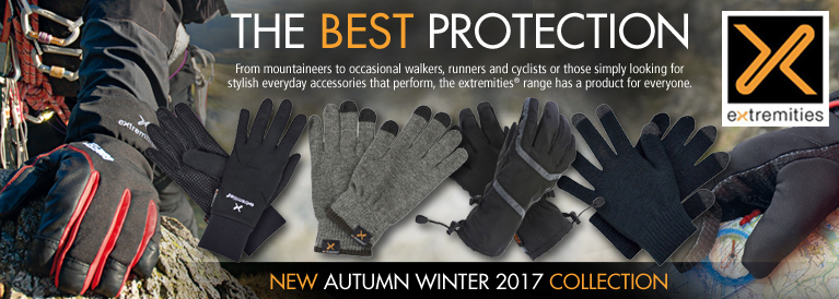 Extremities New for Aurumn / Winter 2017