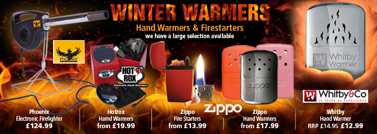 Hand Warmers and Lighters