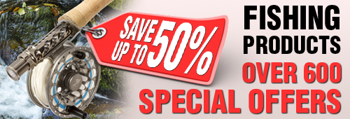Fishing Products over 600 SPecial Offers