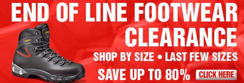 Final Footwear Clearance