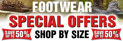 Footwear Speacila Offers - Shop by Size