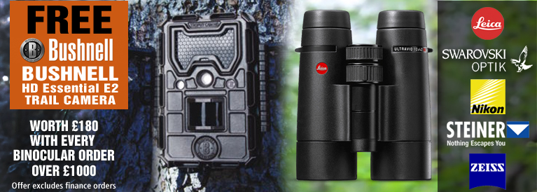 Fee Bushnell Trail Camera with Every Bino over 1000
