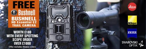 Free Bushnell HD Essential E2 Trail Camera
