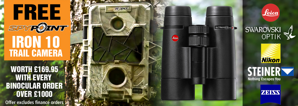 Fee Spypoint Trail Camera with Every Bino over 1000