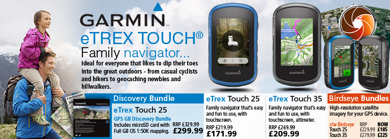 Garmin eTrex Touch Series