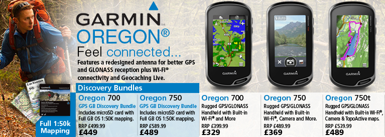 Garmin Oregon Series