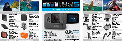 GoPro Hero5 Action Camera - Black