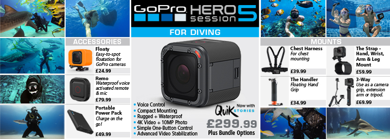 GoPro Hero5 Session Action For Diving