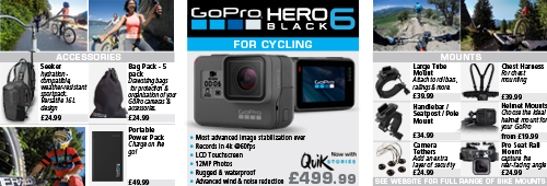 GoPro Hero 6 for Cycling