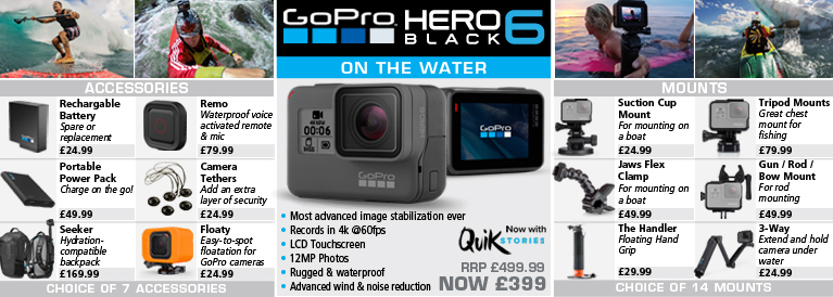 GoPro Hero 6 for Water