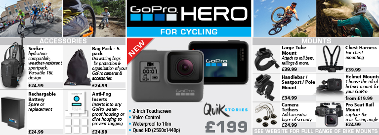 Go Pro Hero for Cycling
