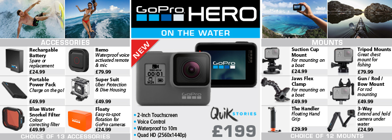 Go Pro Hero on the Water
