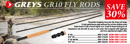 Greys GR10 Fly Rods