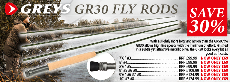 Greys GR30 Fly Rods