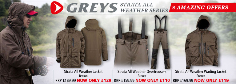 Greys Strata All Weather Clothing 3 Amazing Offers