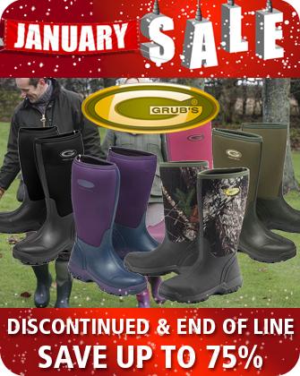 Grubs January Sale