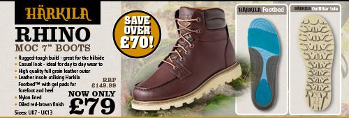 Harkila Rhino Moc 7 Inch Boots