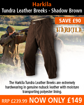 Harkila Tundra Leather Breeks - Shadow Brown