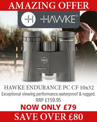 Hawke Endurance PC CF 10x32 Binoculars - Black