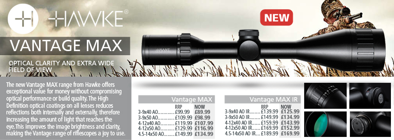 Hawke Optics Vantage MAX