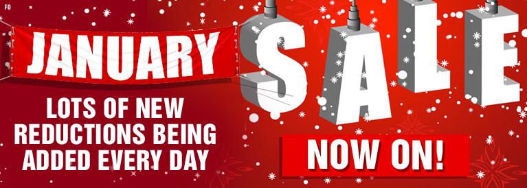 January Sale Now On Footwear