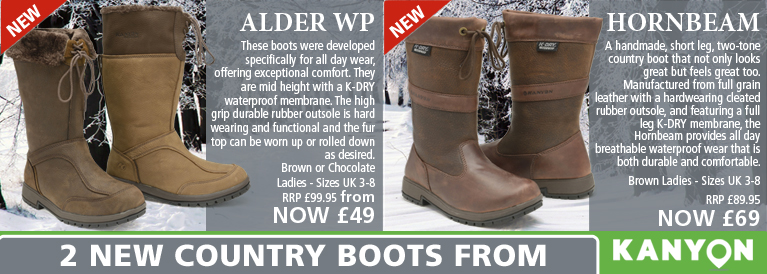 Kanyon Alder WP and Hornbeam Country Boots