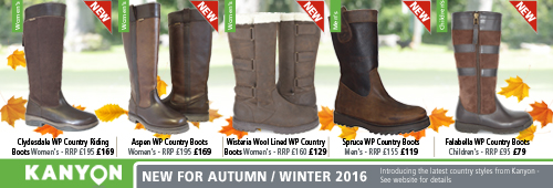Kanyon Outdoor Autumn / Winter 2016 Boots
