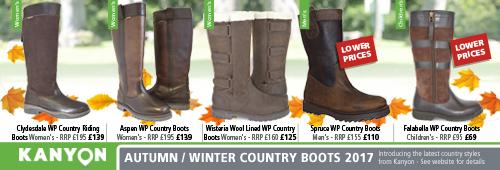 Kanyon Outdoor Autumn / Winter 2016 Boots