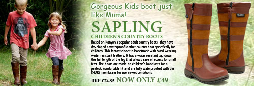 Kanyon Outdoor Sapling Country Boot (Children's) - Chocolate