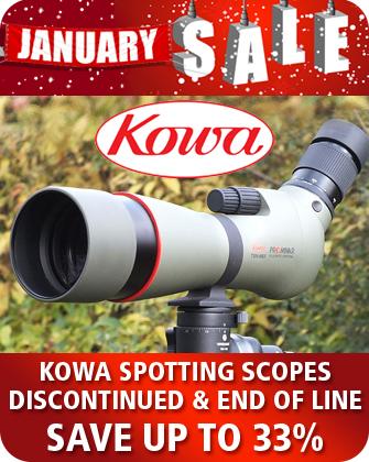 Kowa Spotting Scopes January Sales